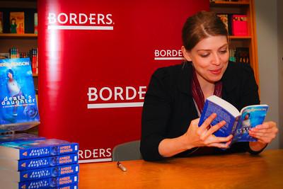 Amber Benson Borders Books Reading