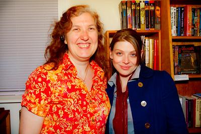 ___ and Amber Benson