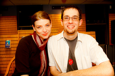 Amber Benson and Kevin