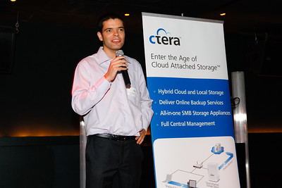 Ctera CloudPlug Launch Tweetup