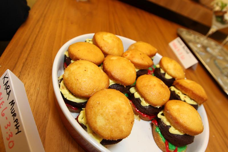 Hmmm Double Decker Cupcake Burgers