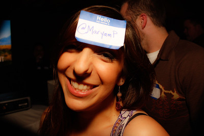 "@MaryamP ""wheres my Name Badge ;)"