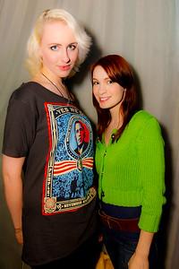 Loren LA and Felicia Day