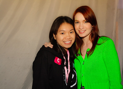 Daynah and Felicia Day