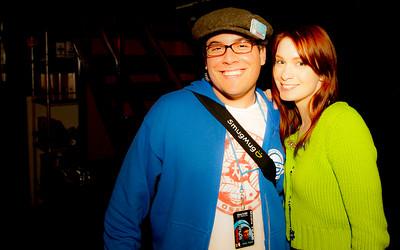 Tony and Felicia Day