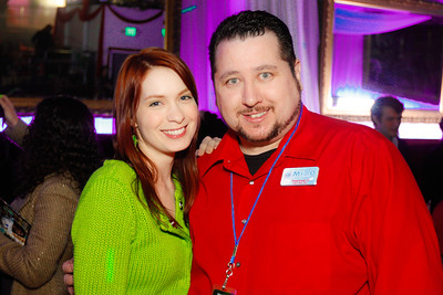 Felicia Day and Michael O'Donnell (ME!)
