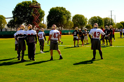 Training Camp with the 49ers