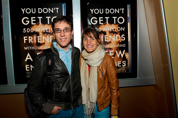 """Startup Digest pre-screening of """"The Social Network"""" and After party"""