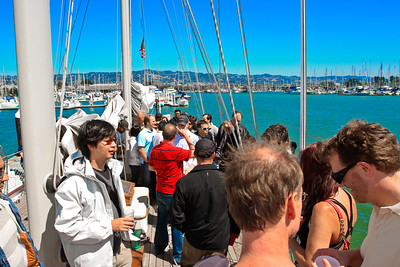 zozi Sailing Showdown with 500Startups and Startup2Startup: Sailing, Tacos, and Beer Tasting