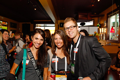 #TCDisrupt AfterParty with @GirlsInTech and @Tripping 09-13-2011