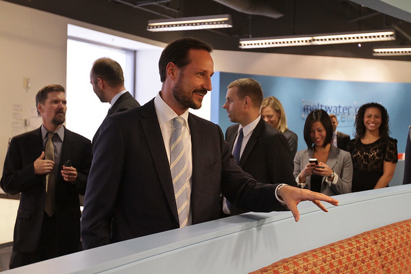 Norwegian prince visits Meltwater Group in San Francisco