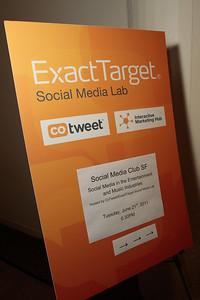 Social Media Club SFO - Social Media in the Music and Entertainment World