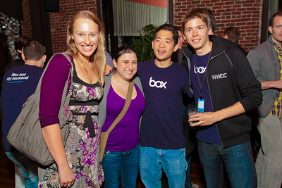 WWDC Cocktail Party - Sponsored by Box.net