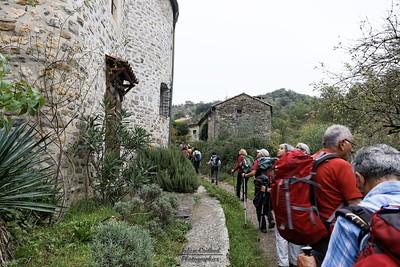 Rochecolombe, le vieux village