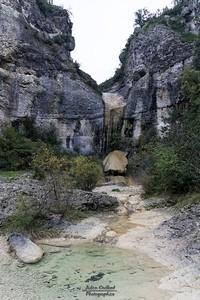 Rochecolombe, la cascade