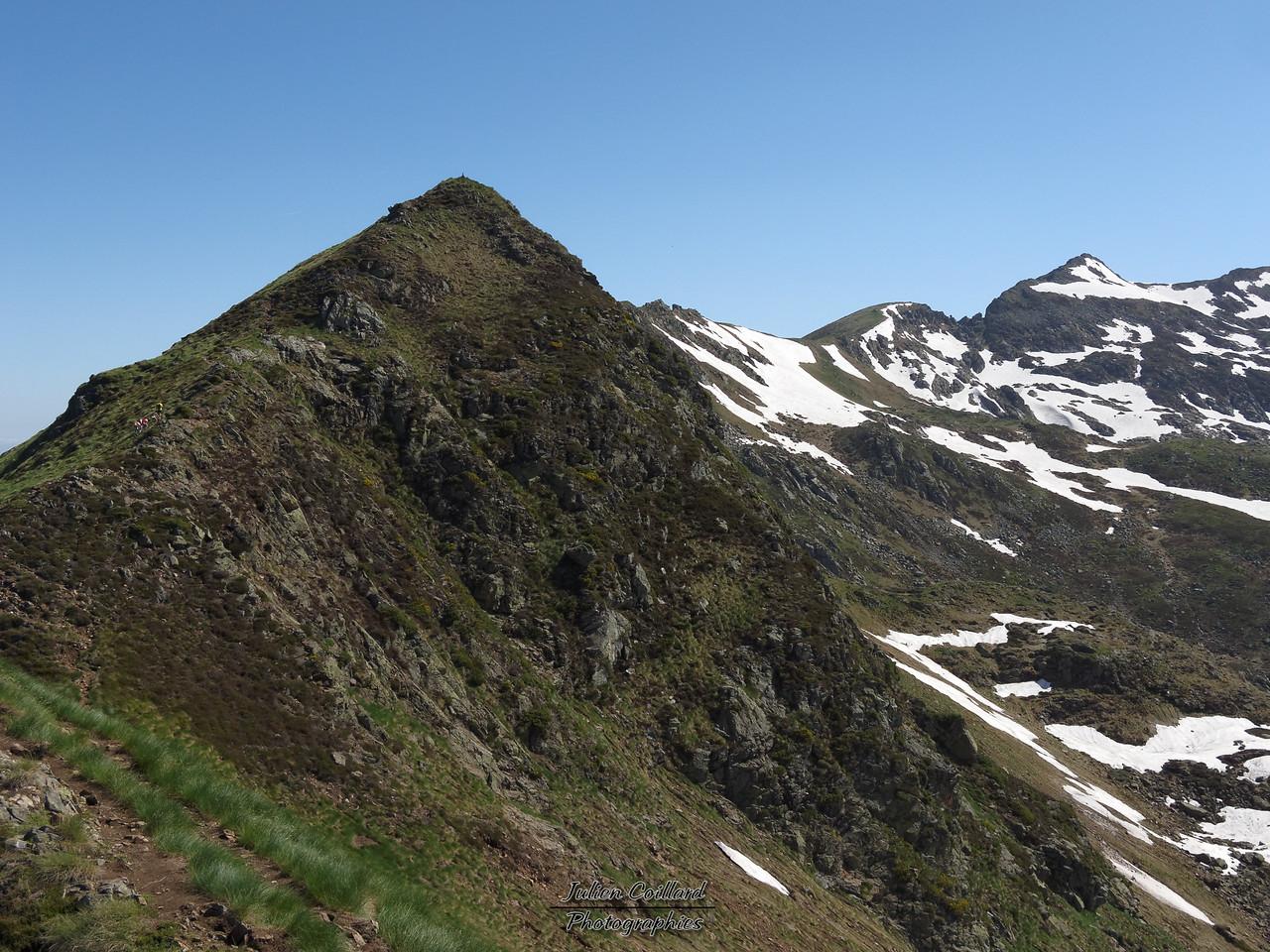 Pic des 3 Seigneurs - La crête sud et le Pic au fond à droite