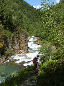 Marc - Vallée de l'Artigues - Vers les Cascades