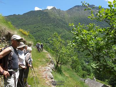 Marc - Vallée de l'Artigues - Au dessus du village