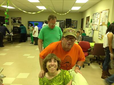 David, Marty and Jenny