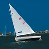 BH Cat Boats Racing on Baregat Bay, Bay Head, NJ