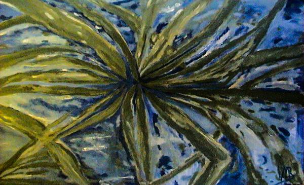 Memory Sleeping Under Fig Trees 2002 Acrylic On Canvas