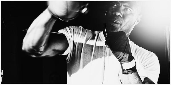 American Heavyweight Boxer, Kasim Howard