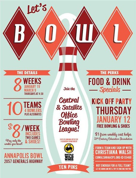 2017 AACPS Bowling League