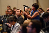 San Diego, CA - The AACR 2014 Annual Meeting - Attendees and speakers during the Cancer Immunology (CIMM)/Tumor Microenvironment (TME) Joint Session at the American Association for Cancer Research Annual Meeting here today, Monday April 7, 2014. More than 18,000 physicians, researchers, health care professionals, cancer survivors and patient advocates are expected to attend the meeting at the San Diego Convention Center. The Annual Meeting highlights the latest findings in all major areas of cancer research from basic through clinical and epidemiological studies.  Photo by © AACR/Phil McCarten 2014 Technical Questions: todd@medmeetingimages.com