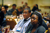 Washington, D.C. - AACR 101st Annual Meeting 2010: Attendees at the Welcome Dinner for 2010 MSI Faculty and Minority Scholars during the American Association for Cancer Research Annual Meeting here today, Sunday, April 18, 2010. More than 17,000 physicians, researchers, healthcare professionals, cancer survivors and patient advocates from 60 countries are attending the meeting which is being held at the Walter E Washington Convention Center. The meeting covers the breadth of cancer science from basic through clinical and epidemiological research. Date: Sunday, April 18, 2010 Photo by © AACR/Phil McCarten 2010 Technical Questions: todd@toddbuchanan.com; Phone: 612-226-5154. Keywords: Welcome Dinner for 2010 MSI Faculty and Minority Scholars Session: 21.
