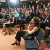People listen during the launch of the American Association for Cancer Research (AACR) progress report 2012 held at the National Press Club in Washington, DC on Sept. 12, 2012. (Photo by Alan Lessig for AACR)