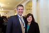 William G. Nelson, MD, PhD, with Margaret Foti, PhD, MD (h.c.),  AACR Chief Executive Officer.