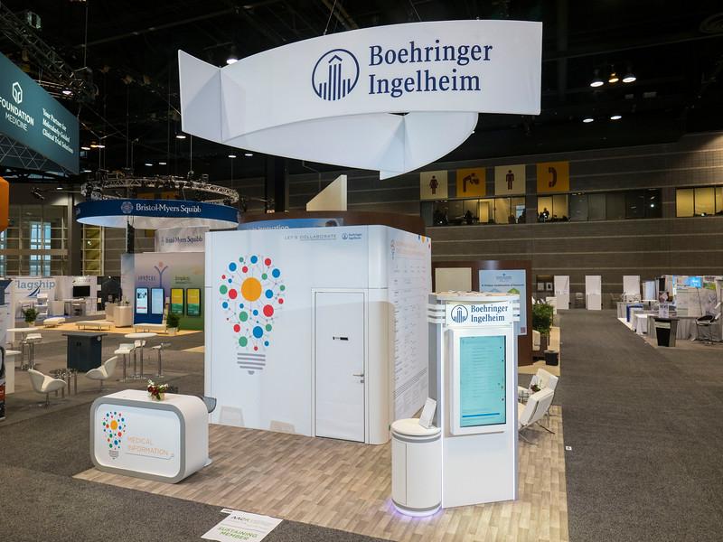 Boehringer Ingelheim during Exhibits