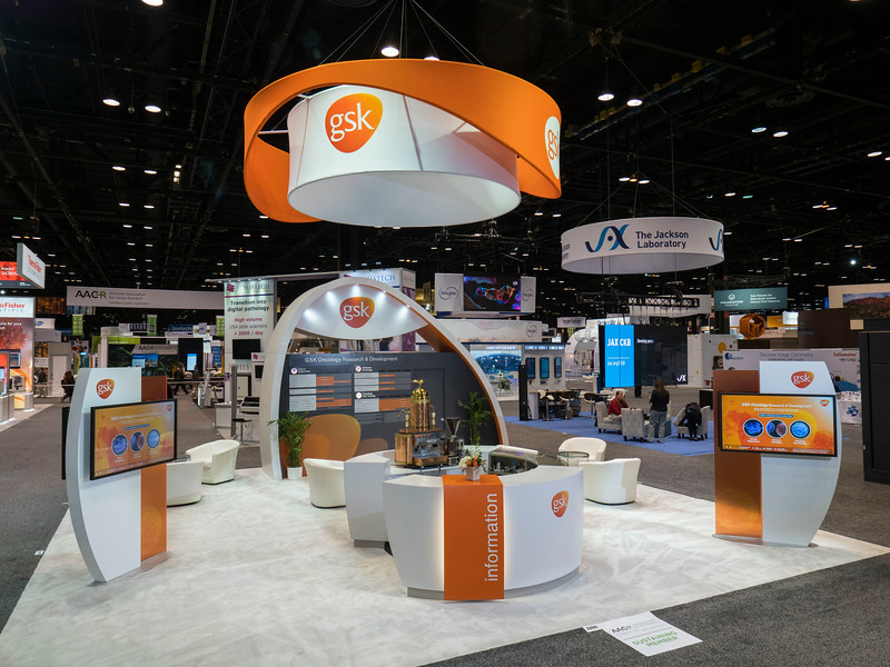 GSK during Exhibits
