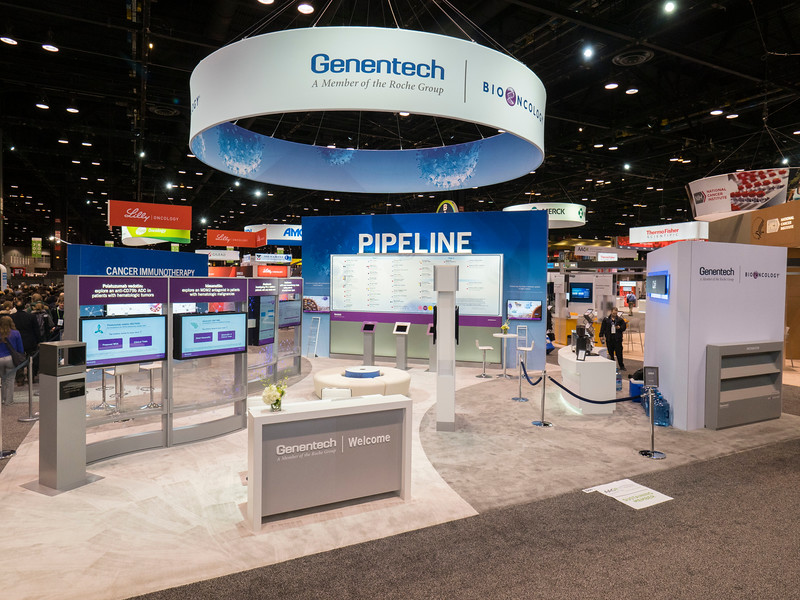 Genentech during Exhibits