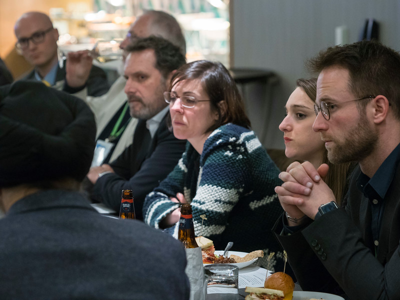 Attendees during General Views