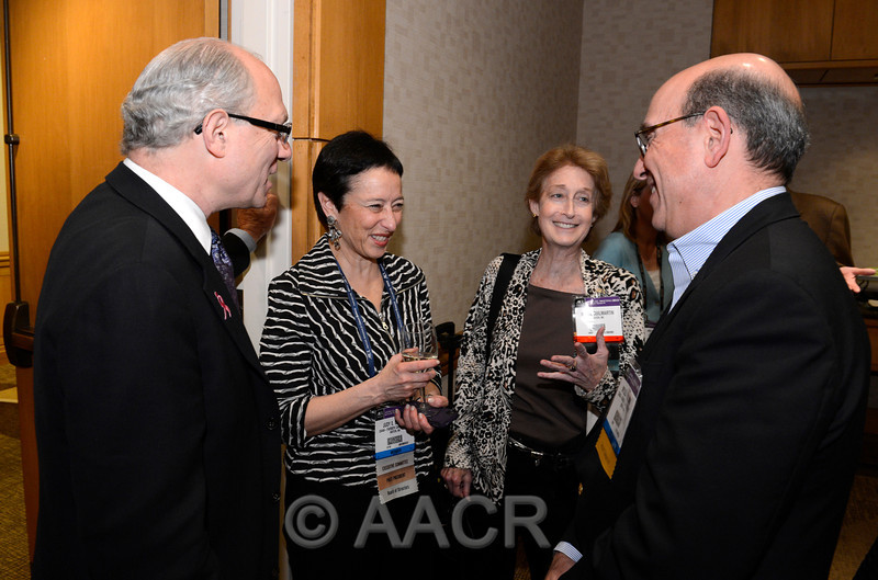 Attendees, at the Sustaining Members Reception