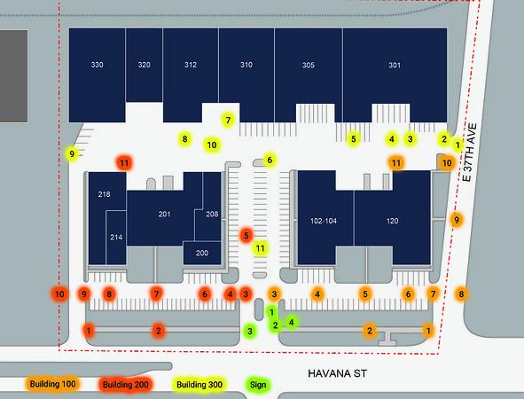 247 Havana - Site plan