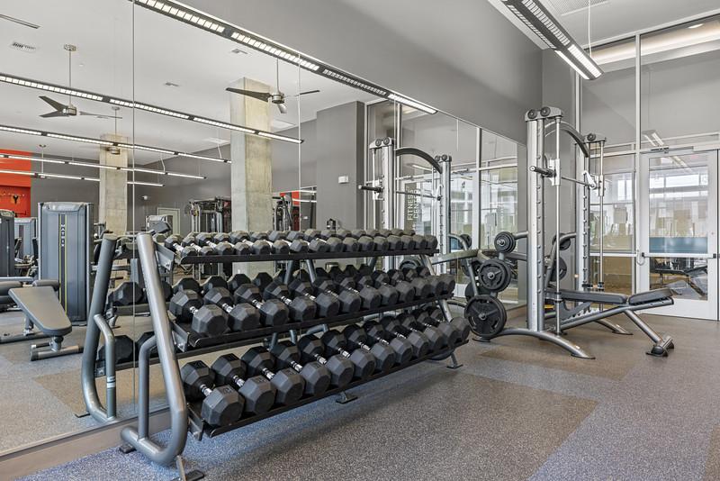 Marq on Burnet Fitness Center 1