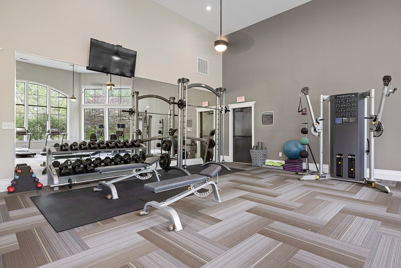 The Marquis at Brushy Creek Fitness Center 1