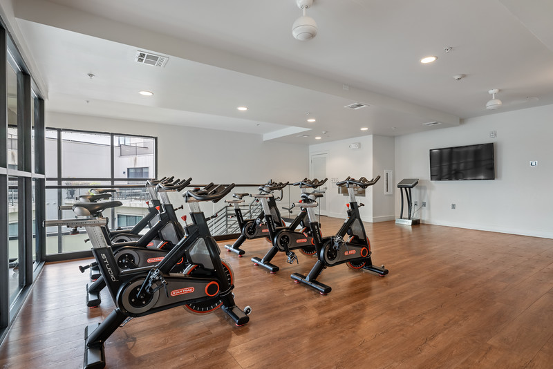 Water Marq Fitness Spin Room