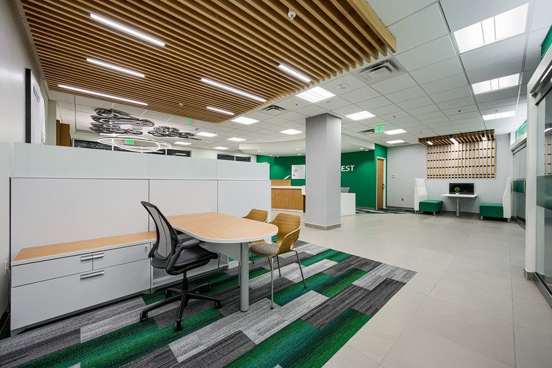 Bank of the West - Office Cubbies 1