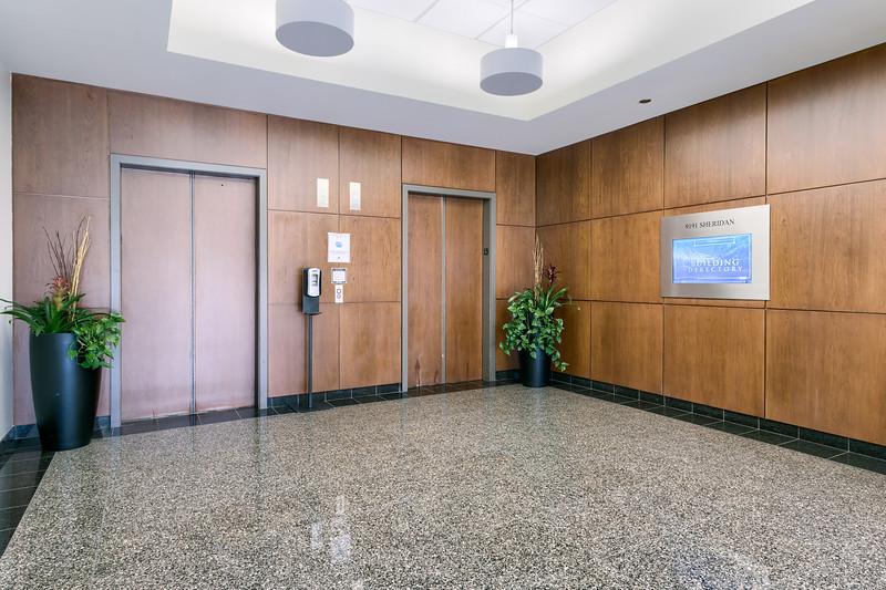 9191 Sheridan Main Elevator Lobby