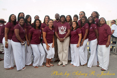 AAMU 2009 Volleyball Team