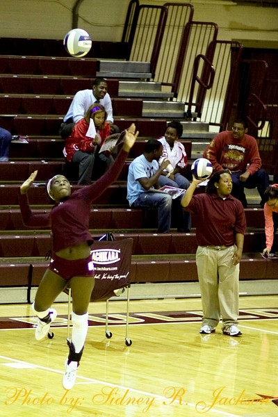 AAMU vs Alcorn 2009 Voleyball