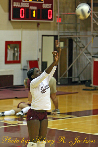 AAMU Volleyball Maroon and White Game