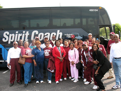 AAMU ACRG Travels to Alcorn to Support the Team