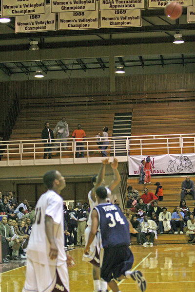 AAMU Men Basketball 2007 vs JSU