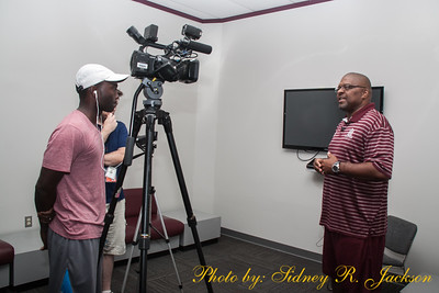 AAMU 2015 Football First Press Confrence and Practice