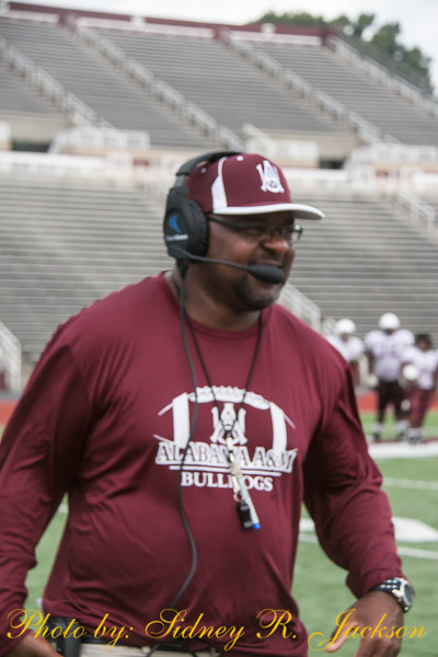 AAMU 2015 Football First Scrimmage
