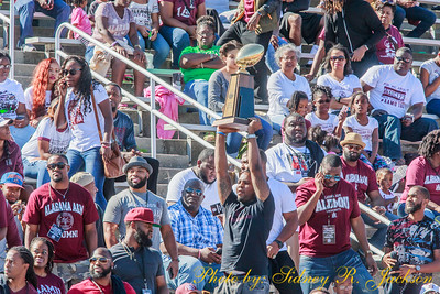 AAMU 2016 Football Homecoming vs Alcorn State Pregame-Band -Pageantry and Friends